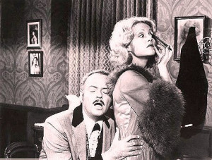 Harvey Korman & Madeline Kahn in Blazing Saddles