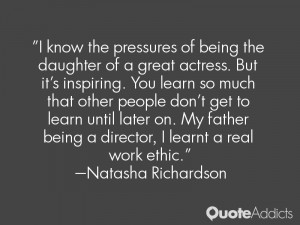 film is a director's vision... there is, however, much input an ...