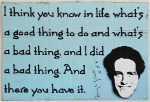 Favourite celebrity quote – Hugh Grant