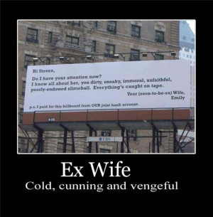 Ex Wife Quotes Funny