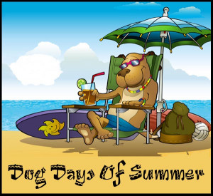 Dog Days Of Summer Clip Art - Dixie Allan
