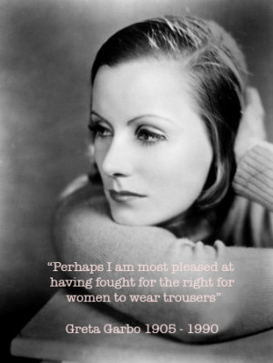 Garbo quote
