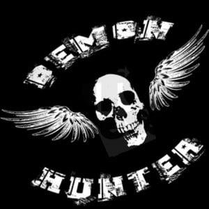 Demon Hunter Skull Zip Hoodie