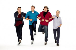 ... Sal Vulcano, Brian Quinn and James Murray in Impractical Jokers (2011