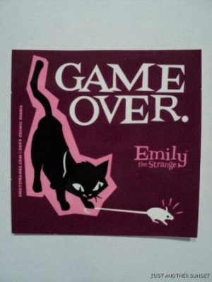 Pixelated Game Over Decal...