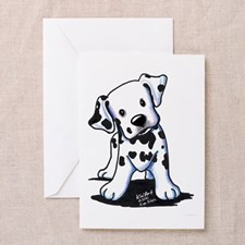 Dalmatian Greeting Cards (Pk of 20) for