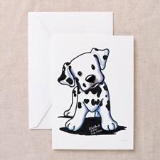 Dalmatian Greeting Cards (Pk of 20) for