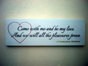 Be My Love Quote Carved Wood Sign by Gabby's Quilts