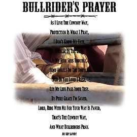 BULL RIDERS PRAYER Image