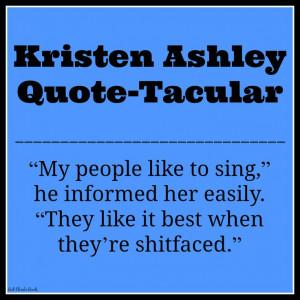 Kristen Ashley Quote-Tacular - RCR