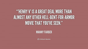 Manny Farber Quotes