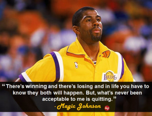 Go Back > Gallery For > Magic Johnson Quotes