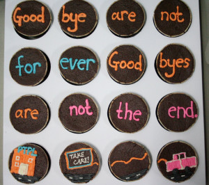 Funny Goodbye Sayings On Cake