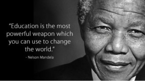 Here are some of the most famous quotations from Nelson Mandela: