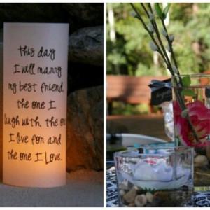 quotes unique reception decor wedding signs luminaries quotes unique ...