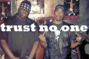 Trust no one | via Facebook | We Heart It