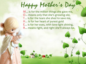 Funny Quotes and Saying for Mother's Day