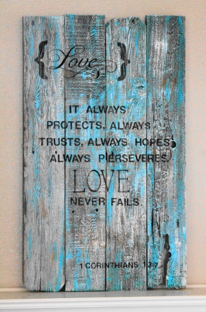 vintage wood signs with quotes