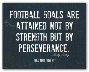 More Football Quotes and Posters