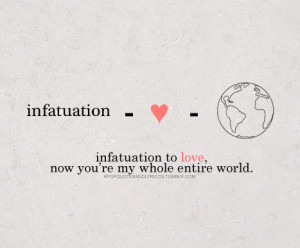 love and infatuation quotes