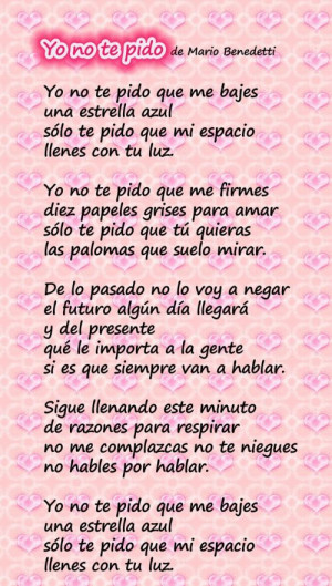 love poems for him in spanish Love Quotes For Him In Spanish Best ...