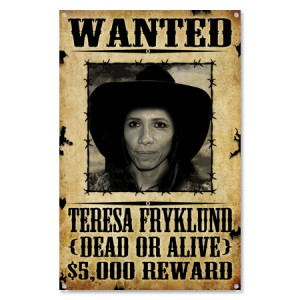 old west wanted poster sign your face here custom wanted poster p