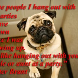 The Best Quotes from Harry and Peter Brant, Illustrated By Pugs