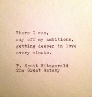 Quote from The Great Gatsby