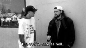 Clerks jay and silent bob kevin smith Silent Bob jason mewes Clerks.
