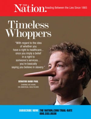 Timeless Whoppers - Rand Paul | The Nation
