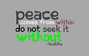 Peace Quotes Photos