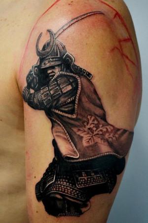 Samurai war tattoo Samurai tattoo