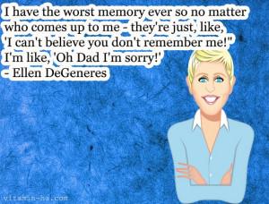 Funny Ellen Quotes