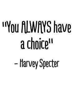 Harvey Specter #quote #Suits More