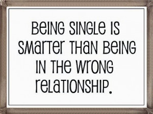 being single and happy