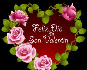 Valentines Day In Spanish feliz día de San Valentín