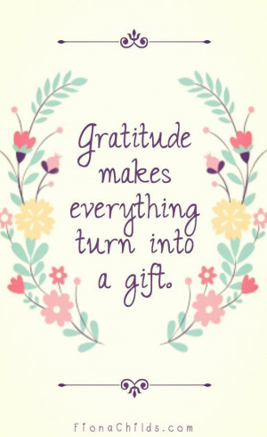 Gratitude Quotes and Sayings