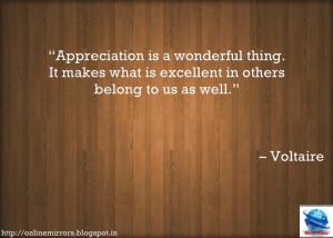showing appreciation quotes