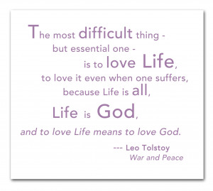 is going through a difficult time…I am reminded about this quote ...