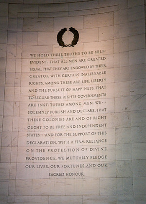 Thomas Jefferson Declaration Of Independence Quotes