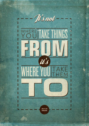 25+ Creative Yet Inspirational Typography Design Posters With Quotes