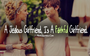 Girl Quotes | Jealous Girlfriend