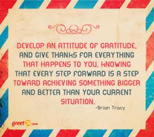 Gratitude Quotations
