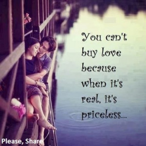 love is priceless #quote