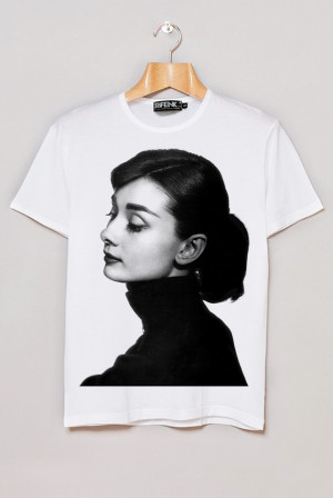 Home AUDREY HEPBURN FUNNY FACE DANCE PORTRAIT TEES