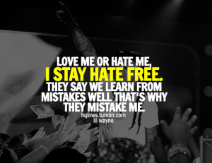 ... hqlines, life, lil wayne, love, people, quotes, sayings, weezy, ymcmb