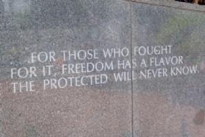 Vietnam Veterans Memorial Quotes