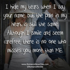 Romantic Quotes for Missing Someone