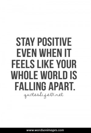 Funny Quotes About Staying Positive