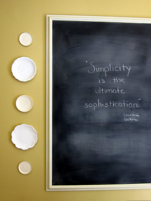 Madigan made... a new chalkboard quote.